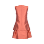 Authentic Second Hand Philosophy Di Alberta Ferretti Layered Flared Dress (PSS-247-00084) - Thumbnail 1