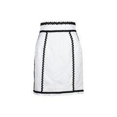 Matelassé Skirt