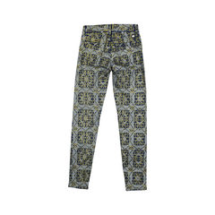 7 for all mankind printed skinny jeans 2?1508915593