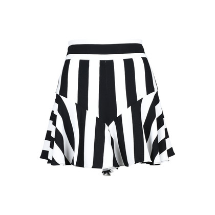 Authentic Second Hand Milly Stripe Flutter Culotte Shorts (PSS-200-00870)