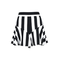 Stripe Flutter Culotte Shorts