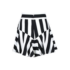 Milly stripe flutter culotte shorts 2?1509075628