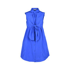 Cutout Shantung-Faille Dress