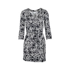 New Julian Two Rose Wrap Dress