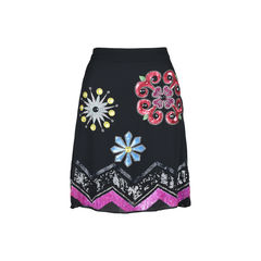 Floral Embellished Skirt