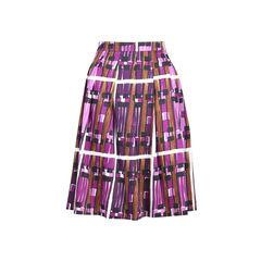 Borgia Print Skirt