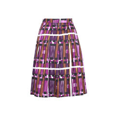 Max mara weekend borgia print skirt 2?1509340003