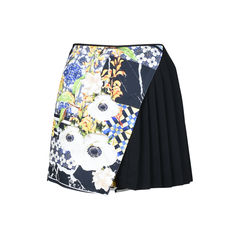 Greek Tiles Pleated Skort