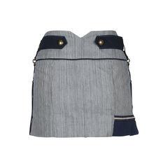 Anthony vaccarello pinstriped denim skirt 2?1509349636