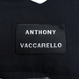 Authentic Second Hand Anthony Vaccarello Pinstriped Denim Skirt (PSS-200-00816) - Thumbnail 3