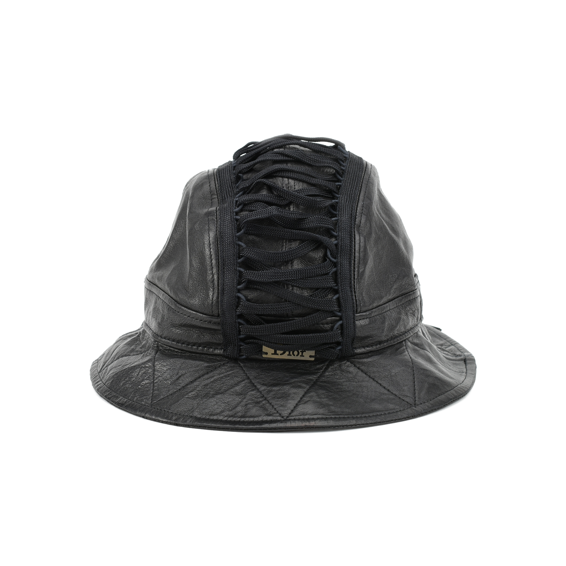 Authentic Pre Owned Dior Leather Bucket Hat (PSS-200-00840)  f1c5017e52c