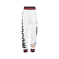 White Daffy Duck Joggers