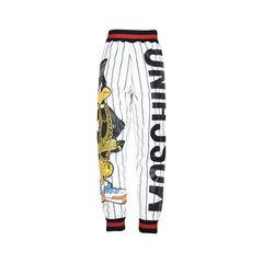 Moschino white daffy duck joggers 2?1509349780