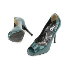 Dolce gabbana patent peep toe pumps 2?1509350704