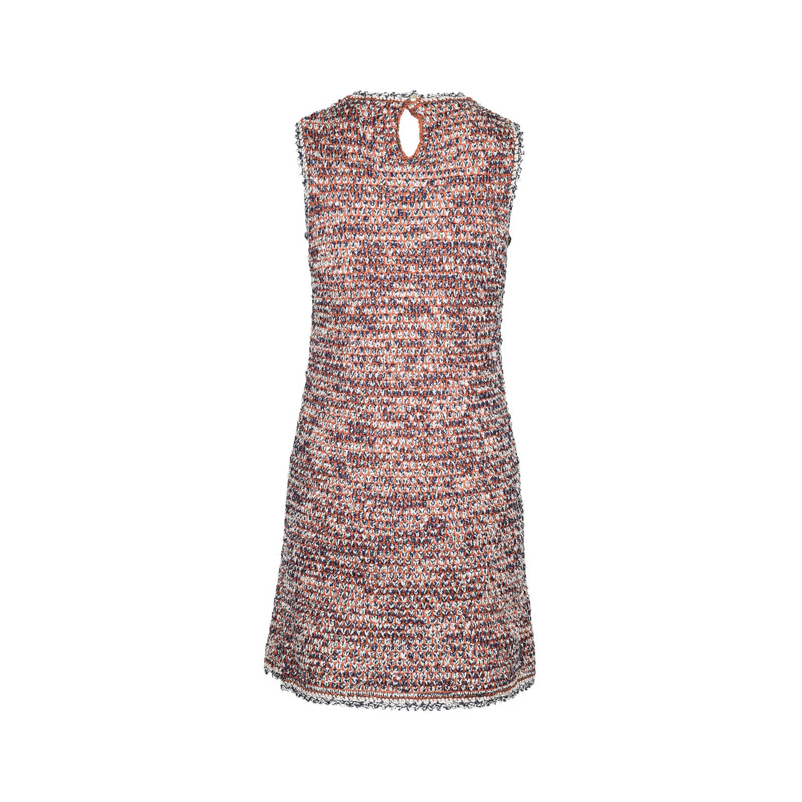cd26a3736 ... Authentic Second Hand Chanel Sleeveless Knit Dress (PSS-377-00015) -  Thumbnail ...