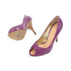 Giuseppe zanotti bow peep toe pumps 2?1509423326