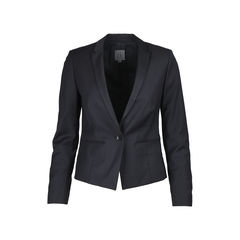 Single-Button Suit Jacket