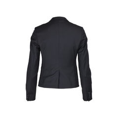 Ck calvin klein single button suit jacket 2?1509425903