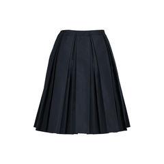 Prada inverted pleat skirt 2?1509458848