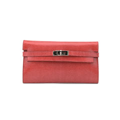 Bougainvillea Lizard Kelly Long Wallet