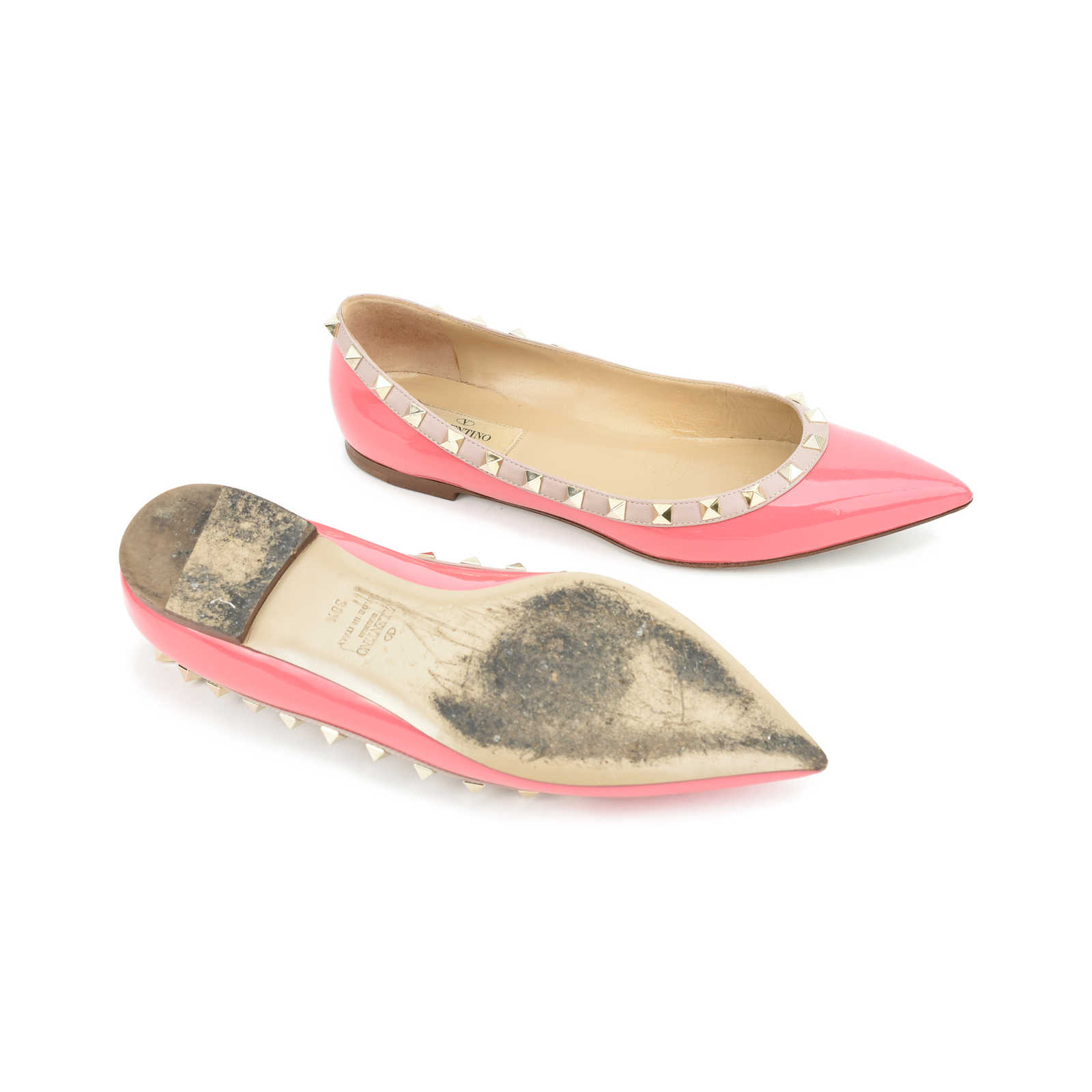 Valentino Satin Ballet Slippers w/ Tags