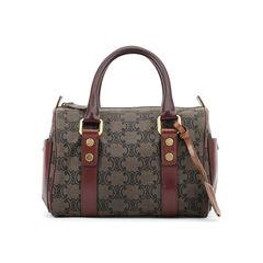 Small Burgundy Logo Handbag