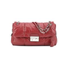 Nappa Bomber Cherry Shoulder Bag