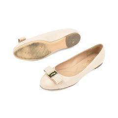 Salvatore ferragamo varina ballerinas neutral 2?1509528843