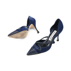 Manolo blahnik pointed crisscross pumps 2?1509529176