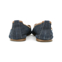 Authentic Second Hand Yves Saint Laurent Denim Peep-toe Flats (PSS-054-00139) - Thumbnail 4