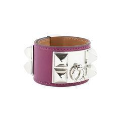 Hermes collier de chien bracelet purple 2?1509529812