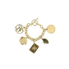 Karl lagerfeld signed charm bracelet 2?1509530020