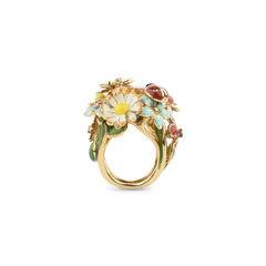 Dior diorette ring yellow 4?1509608470
