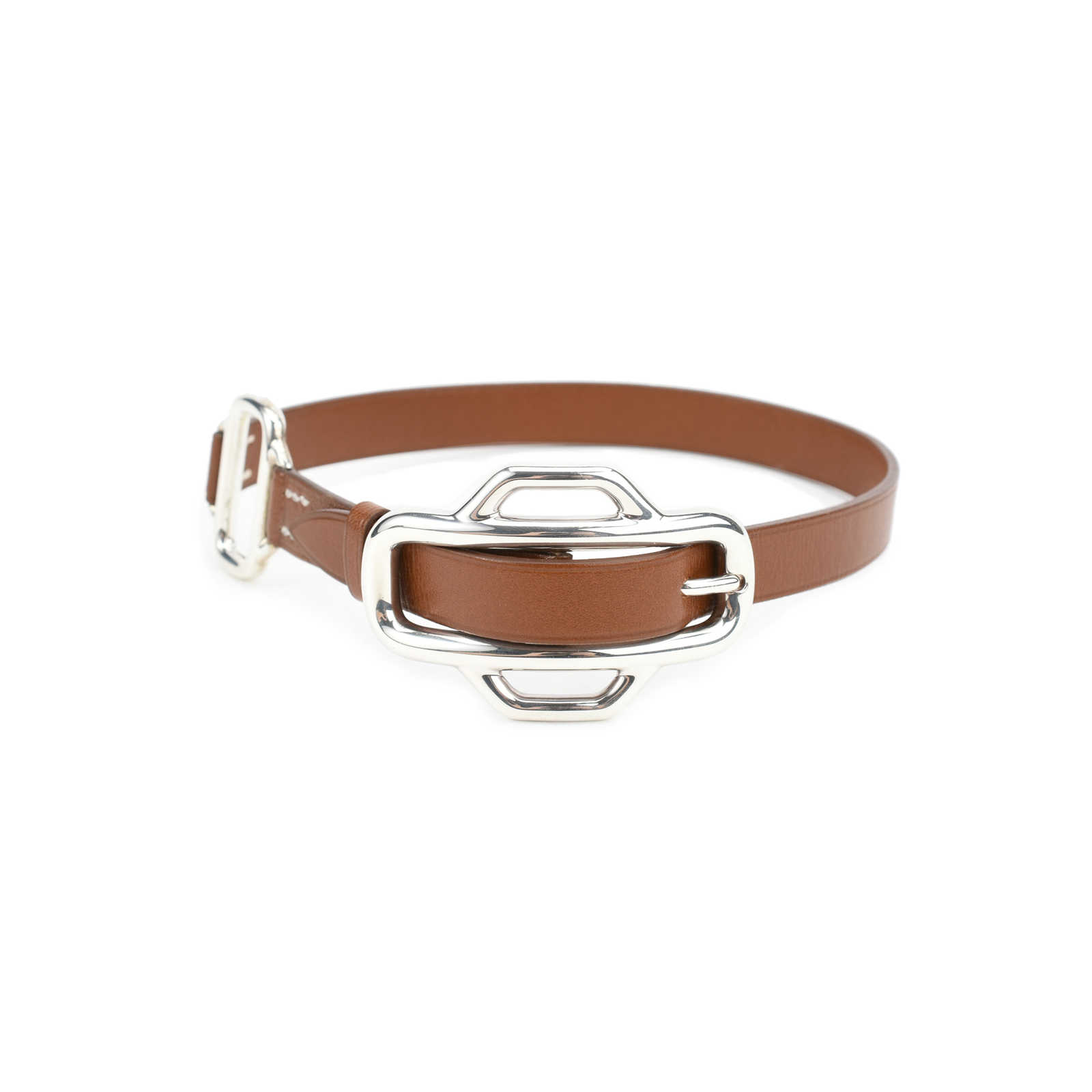 cafa6dbe83e7 ... Authentic Second Hand Hermès Attelage Bracelet (PSS-051-00263) -  Thumbnail 1 ...