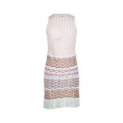 Missoni sleeveless knit dress multicolour 2?1509940270