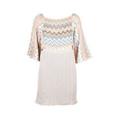 Crochet-knit Shift Dress