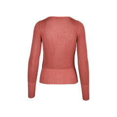 Hermes open knit sweater 2?1509940972