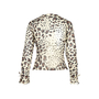 Authentic Second Hand (unbranded) Leopard Print Top (PSS-377-00037) - Thumbnail 1