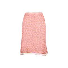 Crochet-knit Straight Skirt