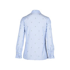 Gucci rose fil coupe shirt 2?1510194710