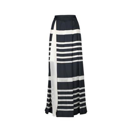 J Js Lee Silk Jacquard Skirt