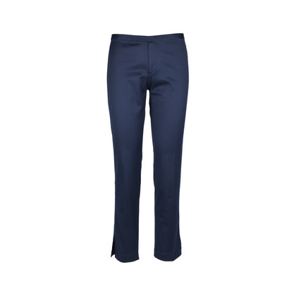 Authentic Second Hand Ralph Lauren Navy Trousers (PSS-054-00146)