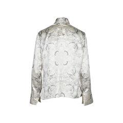 Hermes silk blouse fr 38 1?1510195273