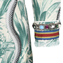 Gucci Embellished Printed Silk Crepe De Chine Shirt - Thumbnail 2