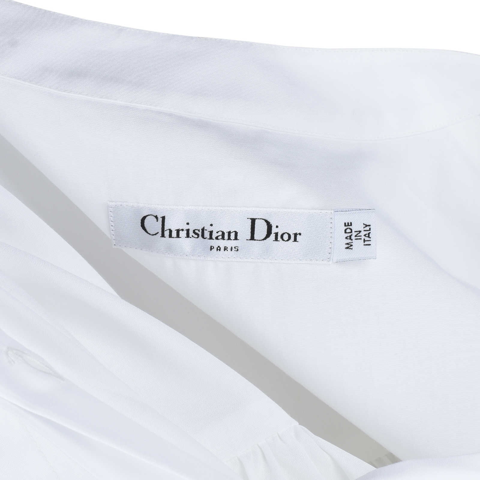 Making Things Convenient For The People large Christian Dior Shirt