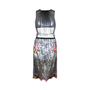 Christopher Kane Pailette Hand Embellished Dress With Aqua Panels - Thumbnail 0