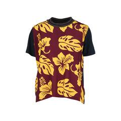 Tropical Printed Top