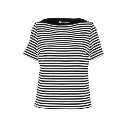 Authentic Second Hand T by Alexander Wang Knitted Striped Top (PSS-145-00145)