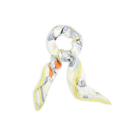 Authentic Pre Owned Hermès Della Cavalleria Cashmere Blend Scarf (PSS-145-00139)