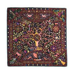 Hermes peuple du vent cashmere blend scarf 2?1510633994